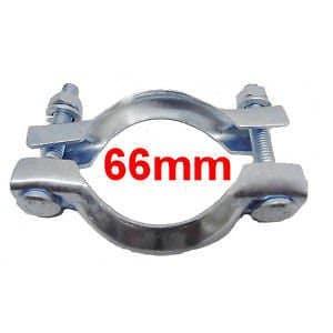 Collier Echappement Diamètre 66mm CNP5 CNP7 Serrage pot ou tuyau