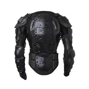 Goldfox® Blouson de motard de type armure Noir