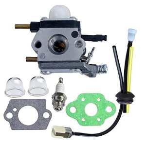 HIPA C1U-K54A Carburateur et Joints Bougie Tuyau Filtre pour Motobineuse Echo Mantis TC-210 TC-210i TC-2100 SV-6 SV-5H/2 SV-5C SV-4B LHD-1700 HC-1500
