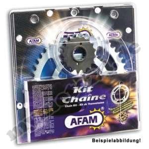 Kit chaîne aFAM aluminium kawasaki kX80 (17 «/ 14»), bj.1991 13-54-126 aFAM420MX-clip g