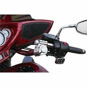 Klock werks kliphanger handlebar 15″ black/chrome – kw… – Klock werks 06012432