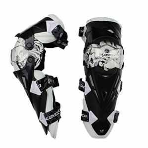 Motif de moto motocross Racing Rider Protections de sécurité Genouillères de protection Gear Sports extrêmes Camber Moto Support genou paire [1]
