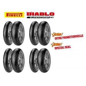 Pack pirelli racing – 4 trains de pneus diablo supercors… – Pirelli 5760030001
