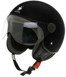 Scotland Casque Jet Déhoussable D, Noir, 61-62 (XL)