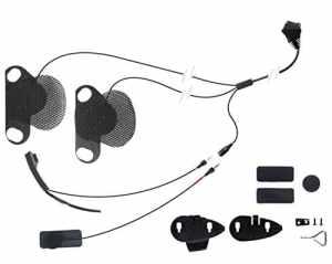 Cellularline MICINTERPHOSHO Kit d'audio pour casque Shoei/Interphone MC/XT/F5S/F5