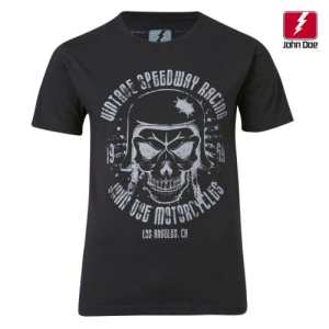 John Doe T-Shirt Skull Black-XXXXL