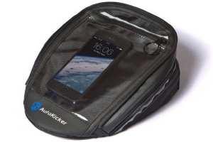 Le Mini Tank Bag, sacoche réservoir magnétique pour motos, de la collection Essential d'Autokicker®