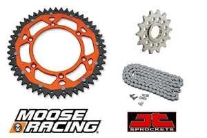 Moose Racing Entraînement Jeu de pour KTM 350EXC F 12–16chaînes de 52+ Pignon 14+ O–Bague Chaîne 120Maillons