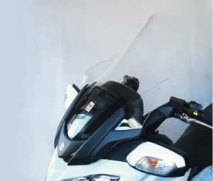 sc2430Pare-brise Isotta avec Caoutchoucs et vis pour Suzuki Burgman 650Givi 2013No