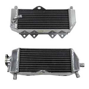 ALLOYWORKS L&R Refroidissement du moteur en Aluminium Radiateur pour Yamaha YZ125 YZ 125 2005-2014