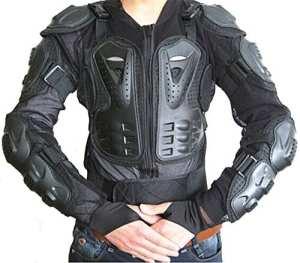 West Biking Veste intégrale de protection pour moto, Enfant femme Homme, S/(UK Size:XXS)