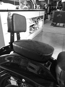 Dossier pour passager arrière Sissy Bar Sissybar Noir à démontage rapide pour Harley Davidson Sportster XL Forty Eight 48 1200X 1200 X