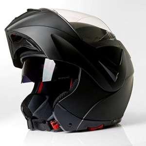Casque à visière de moto intégral cMX vador noir mat