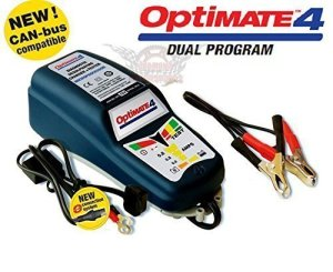 CHARGEUR batterie moto optimate 4