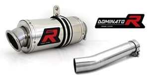 Dominator Exhaust Silencieux échappement YAMAHA FZS 600 FAZER 98-03 + DB KILLER (GP I)