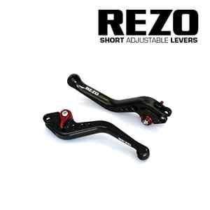 REZO V2 Court Noir Ajustable CNC Moto Leviers Pour Suzuki GSX-R600/750/1000, TL1000S, DL650 V-Strom, GSR 600/750, SFV650 Gladius