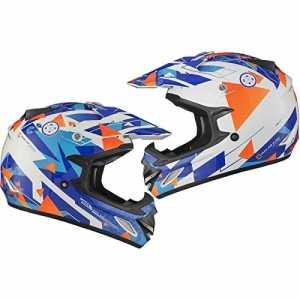 Shox MX-1 Delta Motocross Helmet M Blue Orange