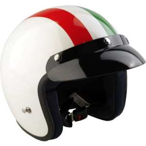 Viper RS-04 Caque pour moto et scooter Blanc Blanc m