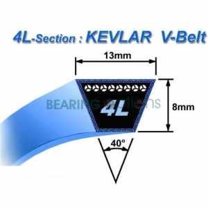 OPTIONS BOLENS KEVLAR roulement (ceinture) 2133 13067 13068 Lame de coupe KEVLAR de courroie de transmission