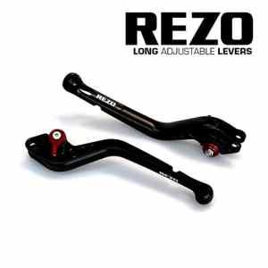 REZO V2 Longue Noir Ajustable CNC Moto Leviers Pour Yamaha YZF-R6 2005-2016, Yamaha YZF-R1 2004-2008