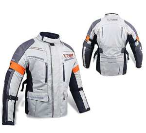 Veste de moto Blouson de moto imperméable avec armure