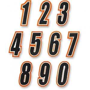 American kargo number orange/black #5 – 3550-0232 – American kargo 35500232