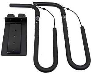 Carver Racks CRS Moped Porte-surf pour Moto Noir