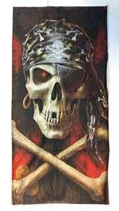 Cou Tube cou Bandana Goletta moto vélo Skull Pirate