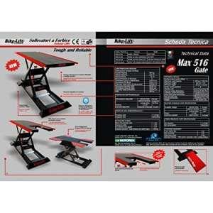 Electro-hydraulic lift 516 gate hc / black/red – mg-516-003 – Bike lift 41100145