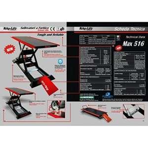 Electro-hydraulic lift 516 hc / black/red – m-516-003 – Bike lift 41100146