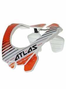 Minerve Mx Atlas 2017 Air Twister (M , Blanc)