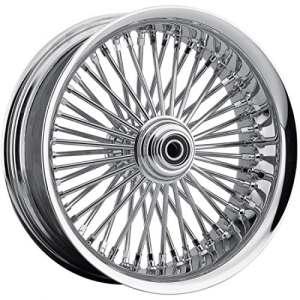 Rear wheel 50 spoke radial 18″x5.5″ chrome – 048… – Drag specialties 02040431