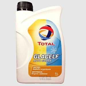 Total Liquide de refroidissement et antigel très longue durée concentré Glacelf Auto Supra (Rose) 1litre