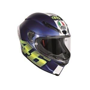Casque de moto AGV Corsa-R V46 Matt bleu