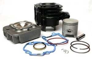 Kit cylindre 70cc pour haut moteur Minarelli, Aprilia Amico,SR, Garelli Big Wheel,Itteco Cool, LEM Flash, MBK Booster, Yamaha BWS, Zest, Bump 50
