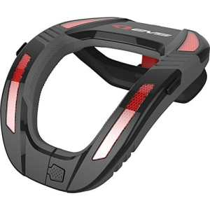 R4K-B-A – EVS R4K Koroyd Adult Neck Protector Black Red
