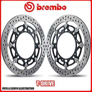 208a98511Kit disques de frein bREMBO t-drive Ducati 848, Evo 848CC 20082013Ø320