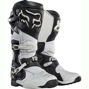 Fox Bottes de motocross Comp 8Blanc Taille 44