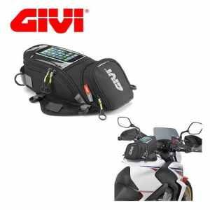 GIVI EA 106 B Sacoche de réservoir (max 6 litres) magnétique à bandoulière pour moto