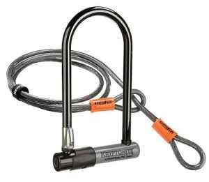 Kryptonite KryptoLok Series 2 Antivol standard avec câble flexible et cadenas