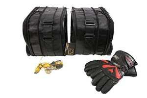 m4b: BMW R1200RT-LC K1600GT K1600GTL (R1200 RT LC K1600 GT GTL): Poches intérieures / sacs intérieurs pour valises latérales — cuir de haute qualité (bœuf)
