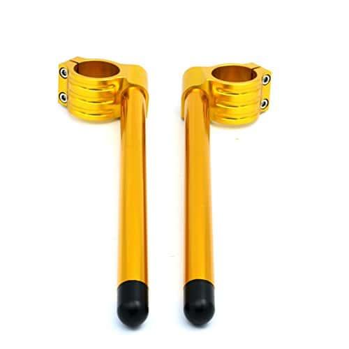 motofans Moto 7/20,3cm 33mm Fourchette clipons Poignée Guidon Bar CNC coupe réglable pour guidon pour Yamaha SRX250T/TC xv-250U/UC/W/WC/A/AC xs-360/C/D/2D xs-400/D/E/2e/F/2F/G/H xs-400SG/SH
