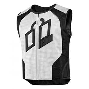 Protection vest hypersport prime? white x-large – 2830-0387 – Icon 28300387