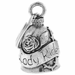 Clochette Lady Rider porte-bonheur moto Guardian Bell
