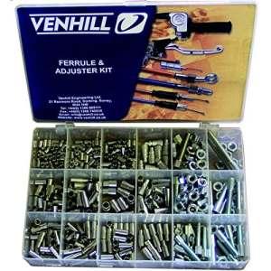 Coffret Accessoires Cables Venhill 459 Pièces Protections Caoutchouc