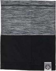 Gregster – Protège cou/écharpe – Modèle Neko – Parfait pour les sports en extérieur – Réspirant -Mélange Noir/Gris