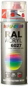 Dupli Color – 490866 – RAL ACRYL 6027 Vernis/laque Brillant – 400 ml