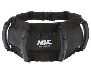 Novac Poignée barre de maintien ceinture de sécurité passager Noir 15.74 inches x 6.69 inches