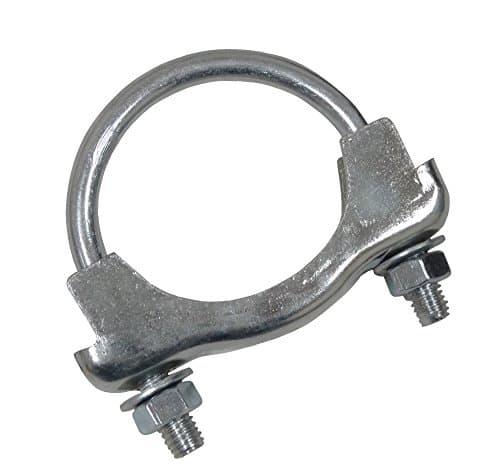 AERZETIX: Collier de serrage fixation pour tuyau pot silencieux d'échappement 45mm diamètre
