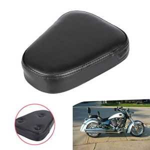 Aochuang motos Noir clouté Sissy Bar dossier Coussin Chopper pour Suzuki Yamaha Honda Kawasaki Harley